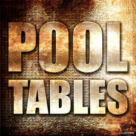 pooltables3drenderingmetaltextonrustbackground